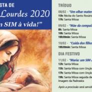 Festa de Nossa Senhora de Lourdes