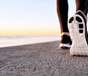 Cinco passos de uma caminhada