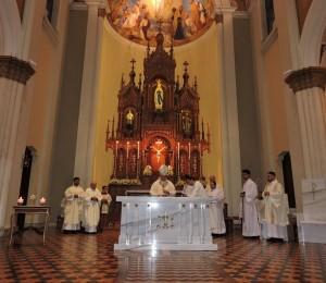 Inauguração e bênção do altar