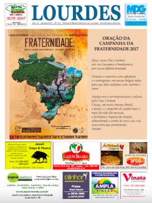 Informativo Lourdes - Janeiro - 2017