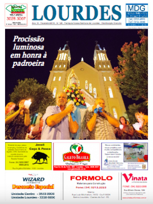 Informativo Lourdes - Fevereiro - 2016